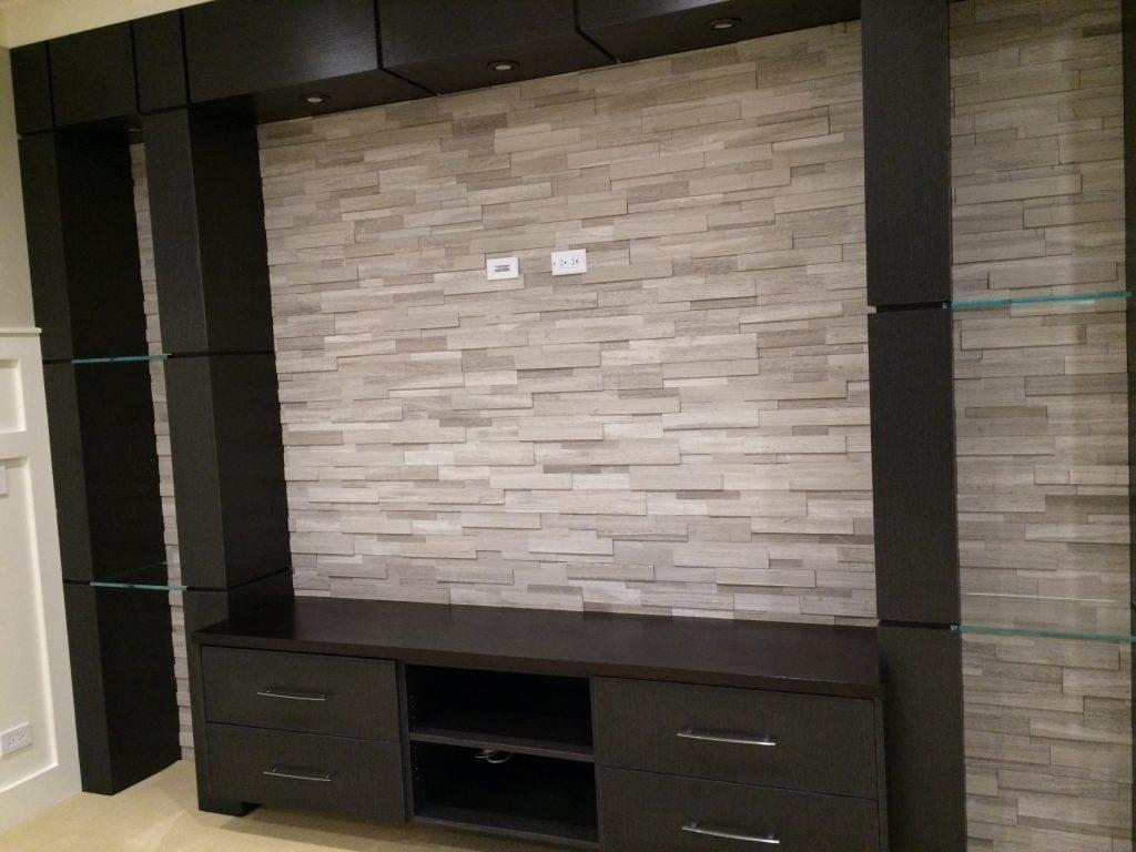 tile entertainment wall